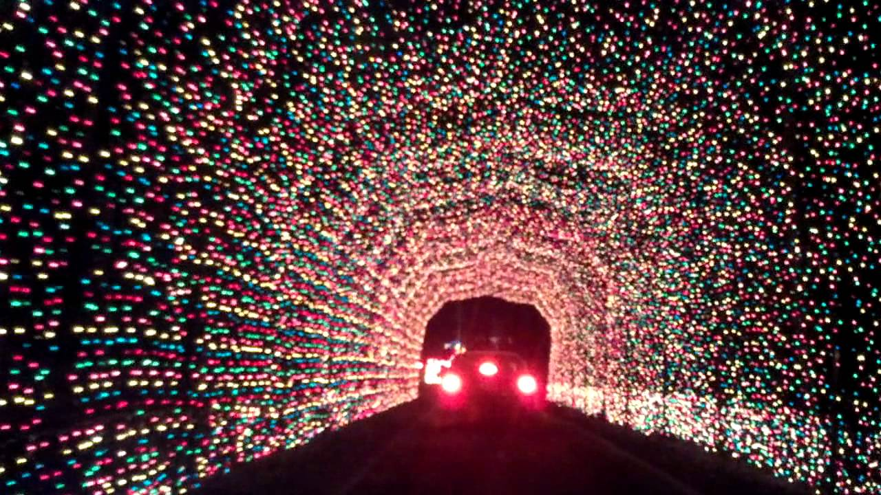 Hartwood Acres 2011 one of the many light tunnels - YouTube