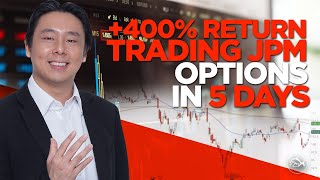 +400% Return Trading JPM Options in 5 Days