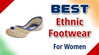 Best Ethnic Footwear for Women in India with Price as on 2017