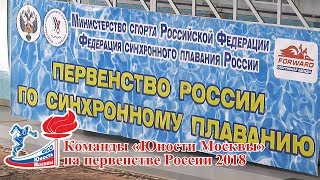Первенство России по синхронному плаванию 2018. г . Чехов.