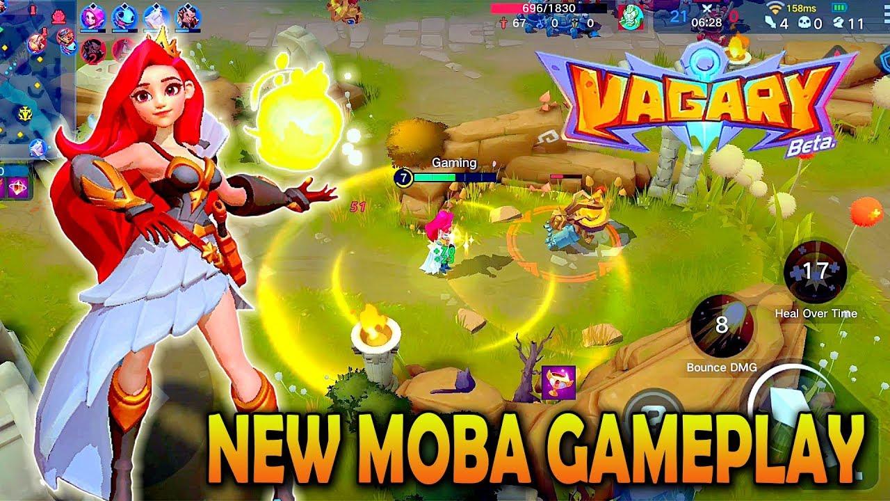 Android Ios Vagary New Moba 5v5 Gameplay Youtube