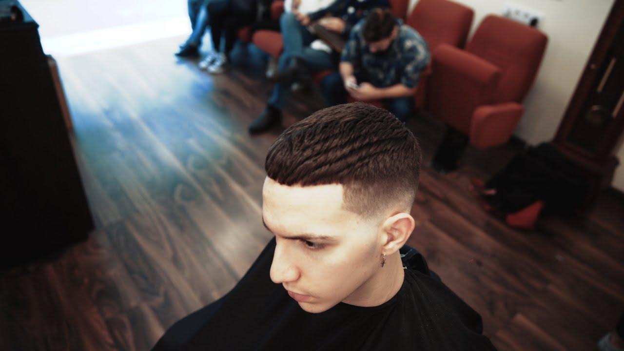 Men S Crop Haircut Styled Using Slick Gorilla Hair Styling Powder
