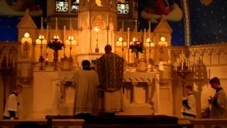 Excerpts: Sung Mass at Our Lady of Lourdes, Philadelphia