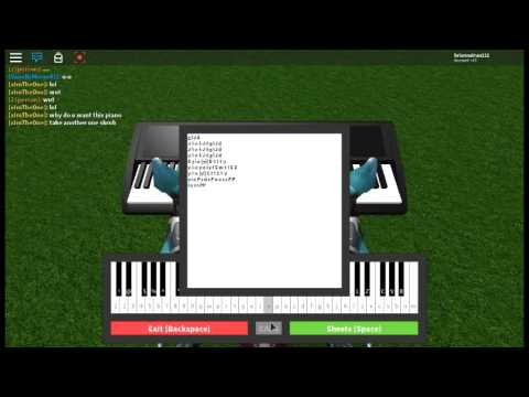 How To Play See You Again On Piano In Roblox Youtube