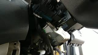 Hyundai i20 AC cooling coil replace dashboard open