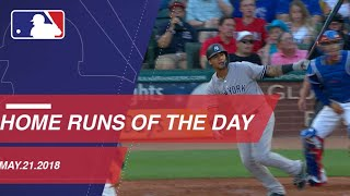 Home Runs of the Day: May 21, 2018