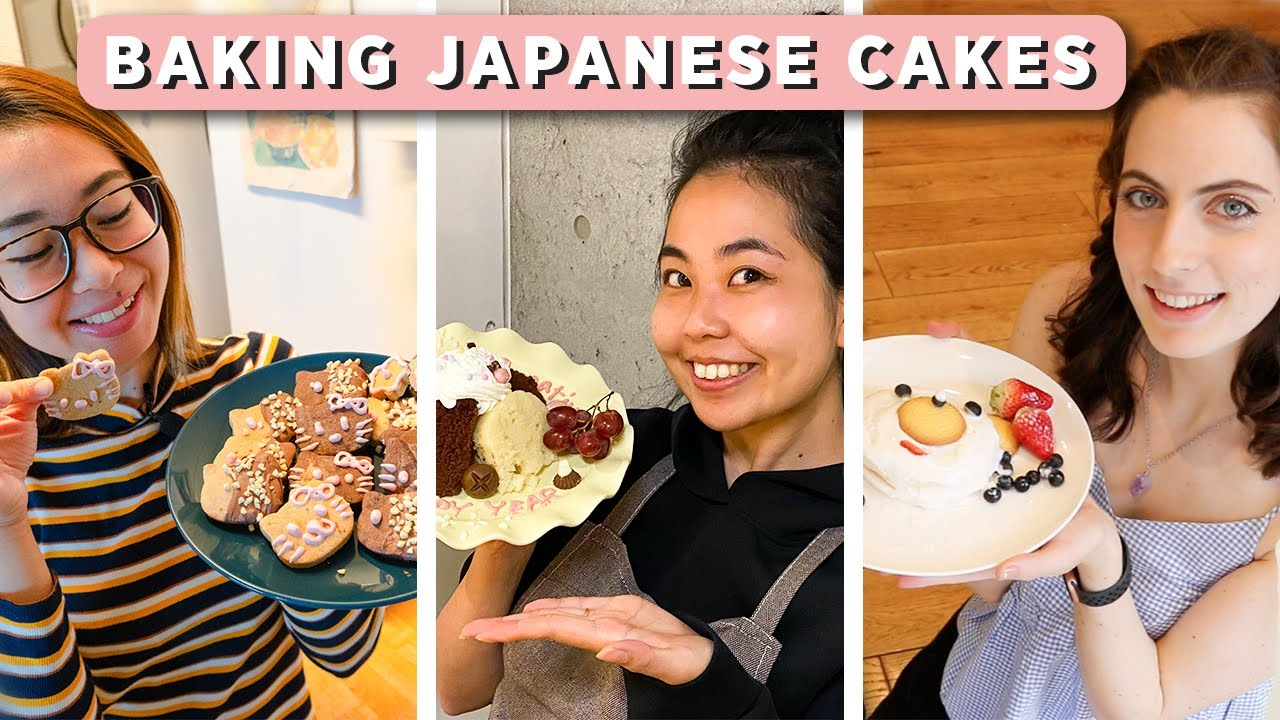 Baking with Japanese Instant Cake and Cookie Mixtures (From White Day)