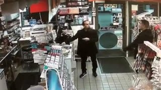 Off-duty cop pulls gun on man buying candy at California convenience store