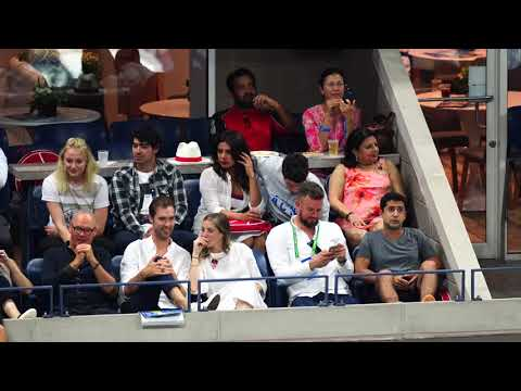 Download 2018 Sept 7 - Priyanka Chopra Nick Jonas have eyes only for each other at the 2018 US Open