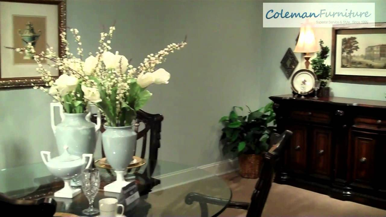 grand estates dining collectionfairmont designs - youtube