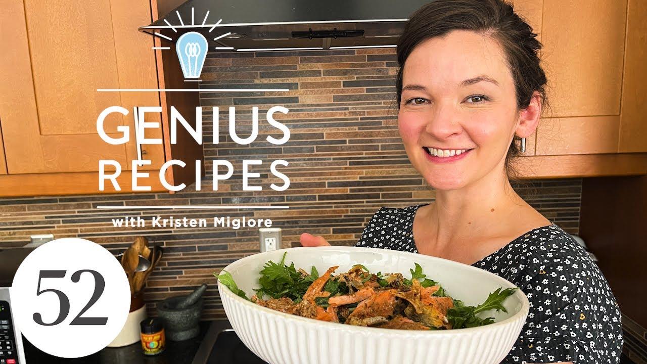 The Genius 10-Second Trick to Better Salmon (Try It on Ice Cream, too!) | Genius Recipes