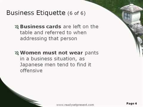business culture in japan