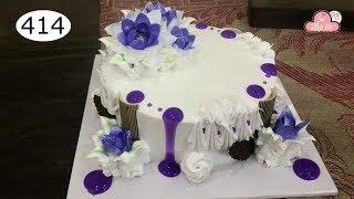 chocolate cake decorating bettercreme vanilla (414) Học Làm Bánh Kem Đơn Giản Đẹp  - Tim (414)