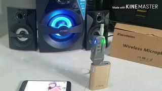 Thử Hát Karaoke Trên Loa Vi Tính Bluetooth Fenda F380X