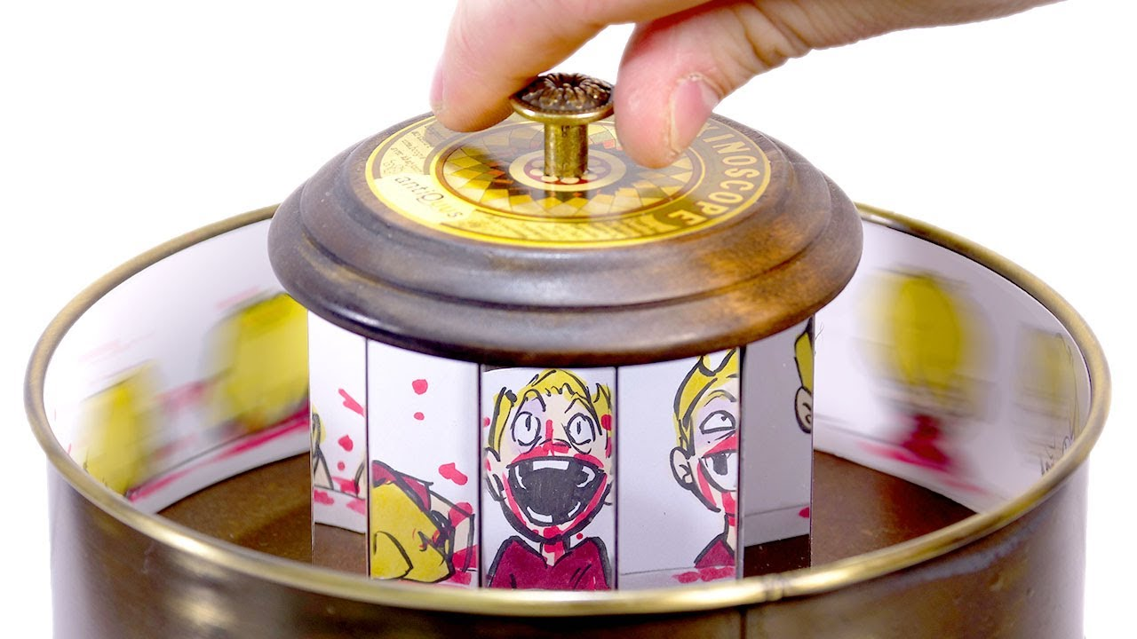 Animating HORRIFYING things on a Zoetrope...