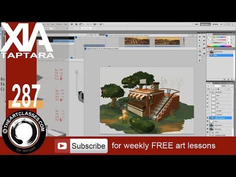 Digital Painting 101 Workshop preview