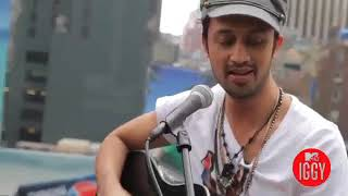 Atif Aslam   Pehli Nazar MainO Jane Ja Live Acoustic version on Roof top for M
