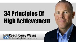 34 Principles Of High Achievement