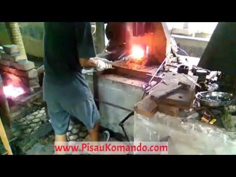 Pembutan Pisau Damaskus / Damascus - Bengkel Pisau Blitar - Bagian 1