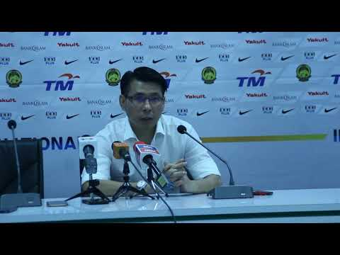 AFF2018: Post Match MAS vs KYRGYZ   - Tan cheng Hoe