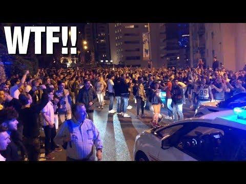 MONACO DEVIENT FOU! La Police doit fermer la route!