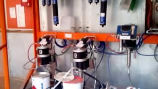Двухкомпонентный дозатор ProMix 2KE на базе расходомеров и на базе насосов(, 2015-06-08T05:31:49.000Z)