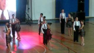 Dance Continental - מופע סיום 2010  Tango