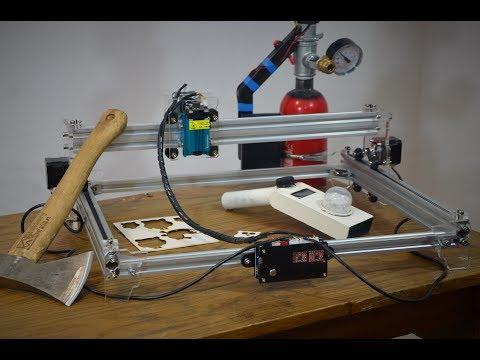 EleksMaker A3 Pro 2500 mW - Co potrafi ten tani laser? Test i wrażenia po miesiącu zabawy :)