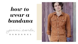 How to wear a bandana: Styling…