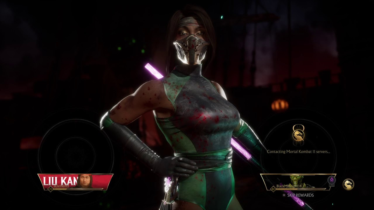 If only Jade was playable in MKX : MortalKombat