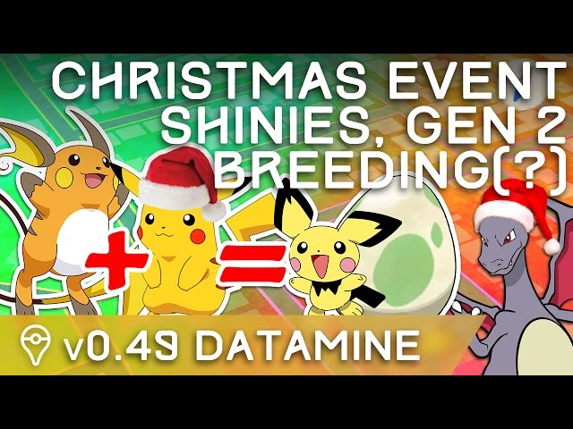 Pokemon Go Christmas Event.Pokemon Go Update News New Pokemon Costumes Sound
