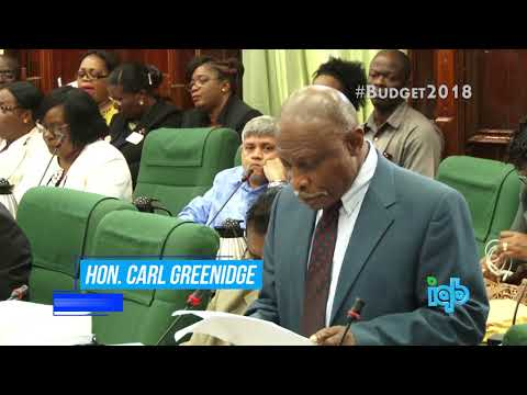 BUDGET 2018 | Minister Carl Greenidge addresses the issue of the US$18M Exxon signing bonus.