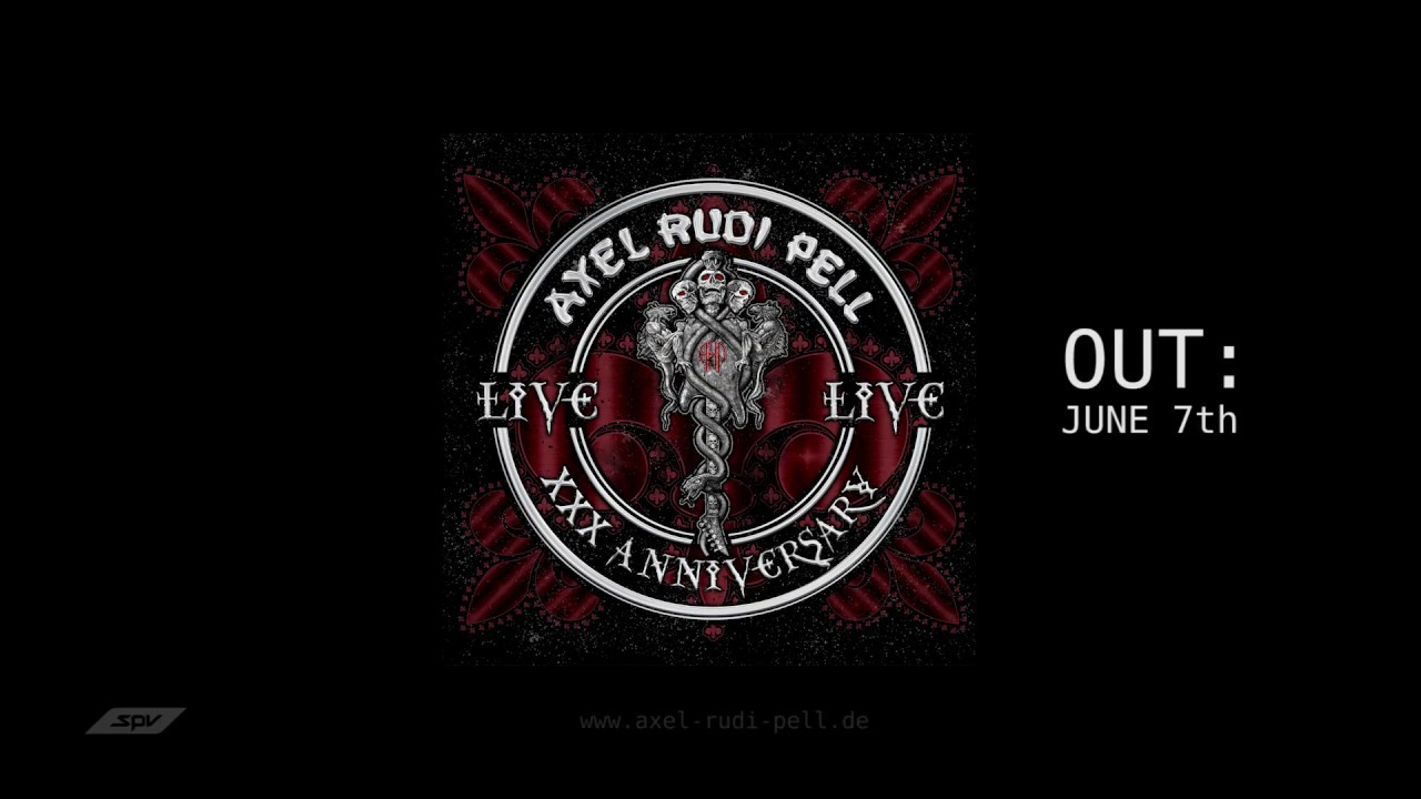 Axel Rudi Pell XXX Anniversary Live Trailer