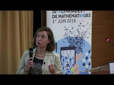 La modélisation mathématique: de la physique au sport - Conference par Amandine Aftalion