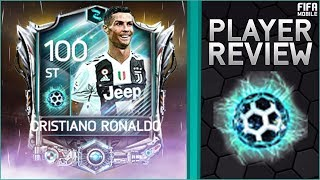 FIFA MOBILE 100 OVR NOW AND LATER PRE SEASON RONALDO REVIEW & GAMEPLAY