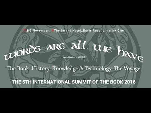 The International Summit of the Book presented by the Limerick Institute of Technology- Session 4