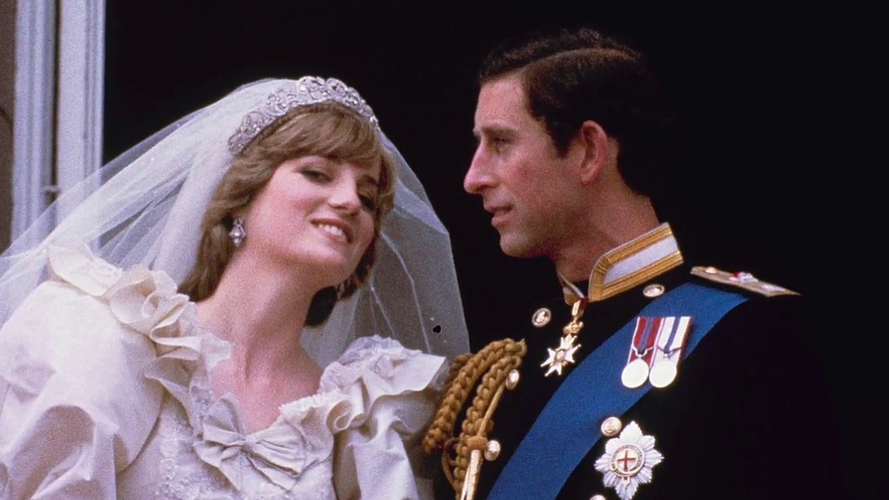 Prince Charles And Lady Diana Married In 1981