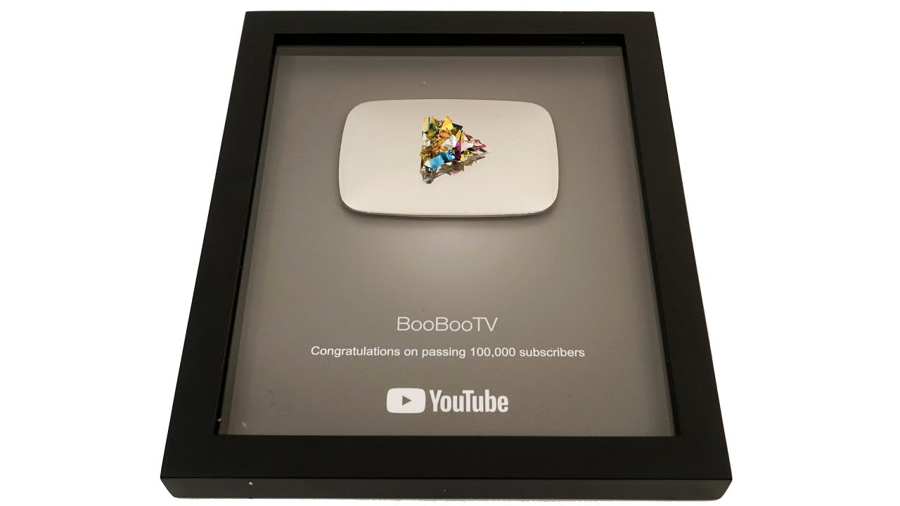 Youtube Silver Button