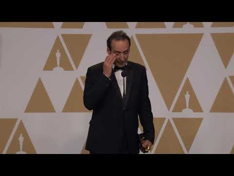 Best Score - Oscars 2018 - Alexandre Desplat - Full Backstage Interview