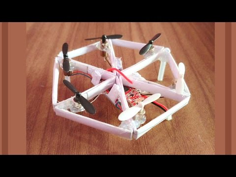 how to make a mini drone that's fly paper hexa copter