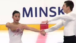 Lori-Ann MATTE / Thierry FERLAND CAN - Pairs Free Skating MINSK 2017