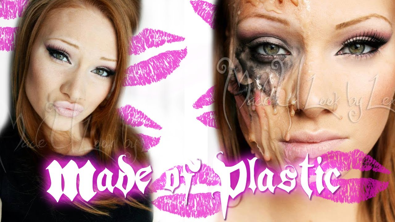 Made of plasticmelted barbie makeup tutorial youtube baditri Image collections