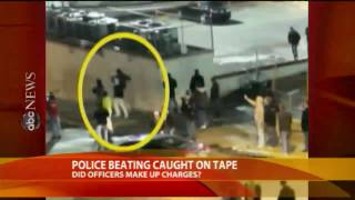 Police Punished After Beating Is Caught-on-Tape