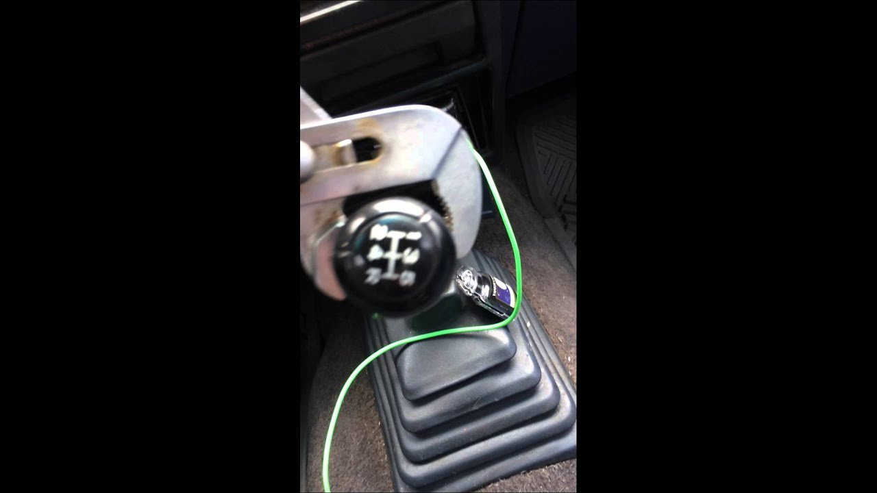 92 Nissan Hardbody Pickup Truck Shift Knob Removal And Re Placement