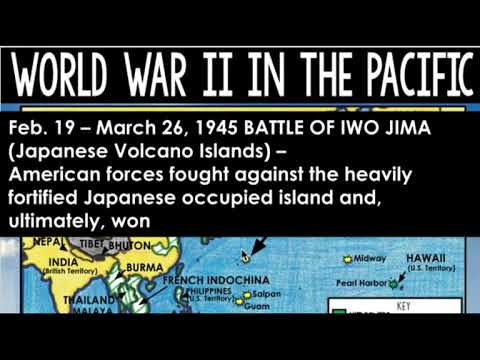 Interactive Pacific Map - Audio Instructions WWII in Pacific Map