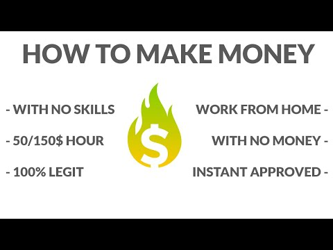Make Money Online 2019  - Work From Home - The Best Easy Way To Earn Money Online Without Skills