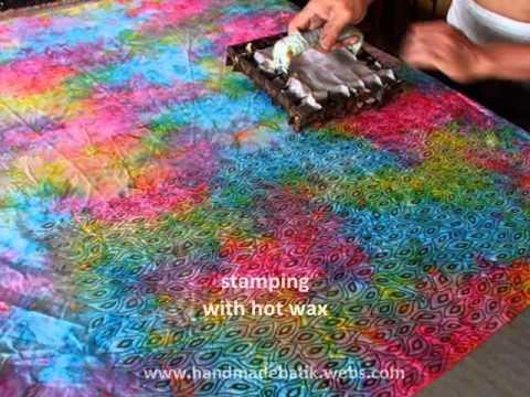 Making Original Batik