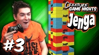 REMIX - Jenga Part 3 | Creature Game Nights