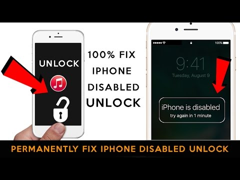 unlock disabled iphone how to remove reset any disabled or 13166