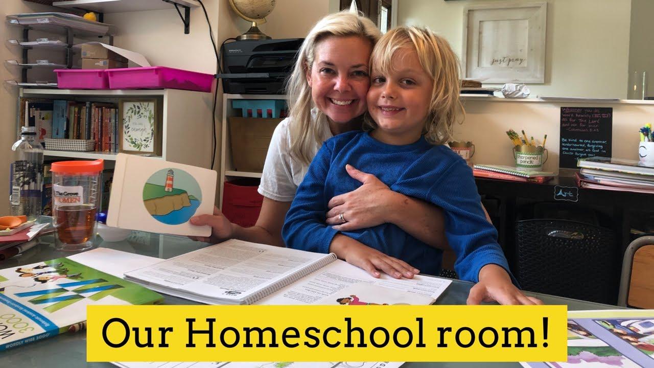 Homeschool Room Tour!